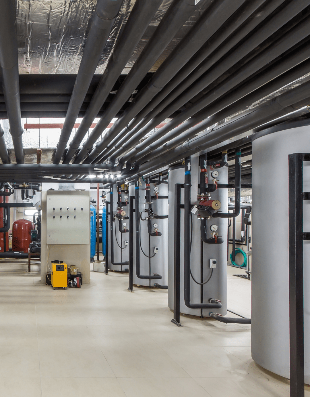 Vital Heating Solutions Commercial Boiler Plant Room UK