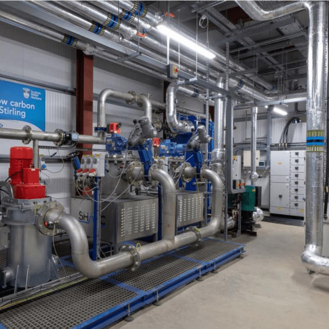 Vital Heating Solutions Energy Centre Plant Room UK Lancashire