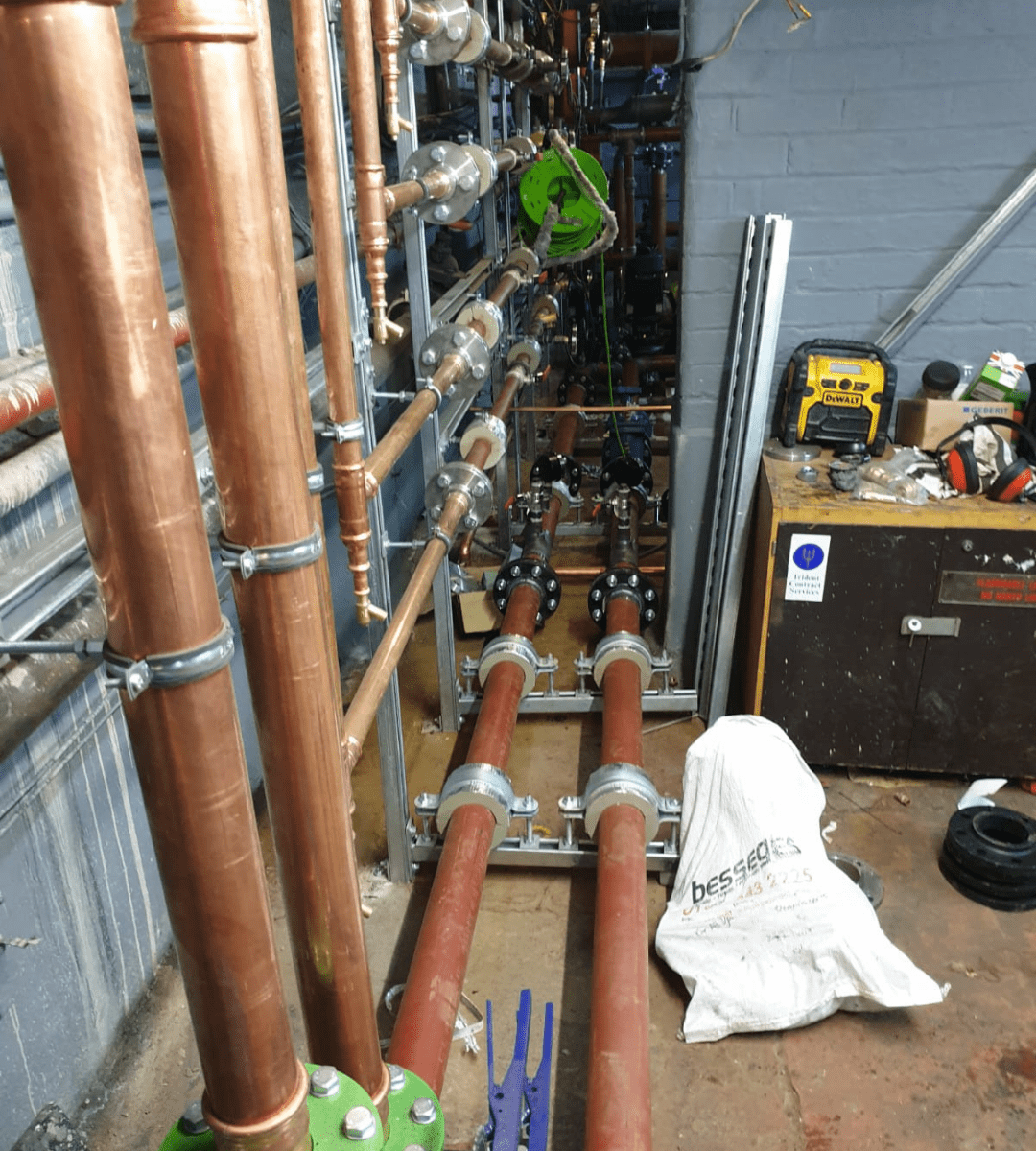 Castercliff Primary Academy School Plant Room Nelson Burnley Lancashire