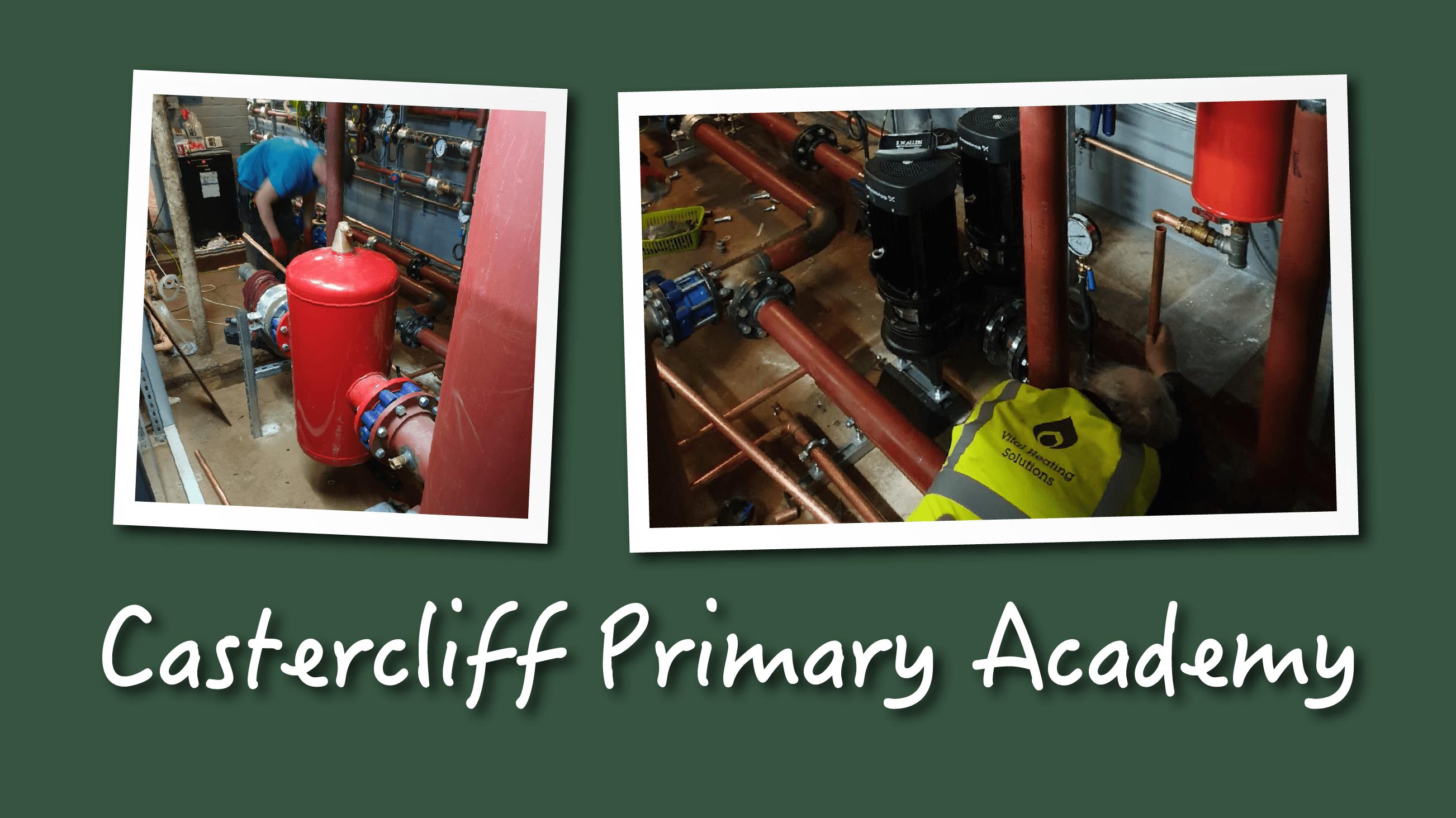 Castercliff Primary Academy neslon plant room-11