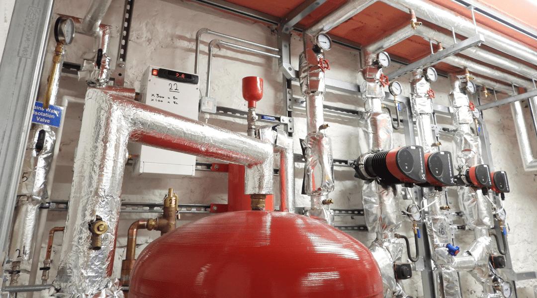 Vital Heating Solutions Commercial Gas Engineers Lancashire Mechanical Engineering Industrial Plumbing Ground Loop Heat Pump Design UK