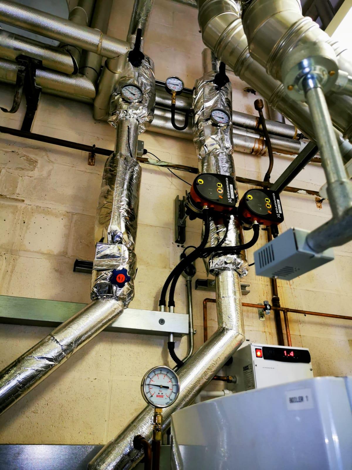 QEGS Blackburn Plant Room