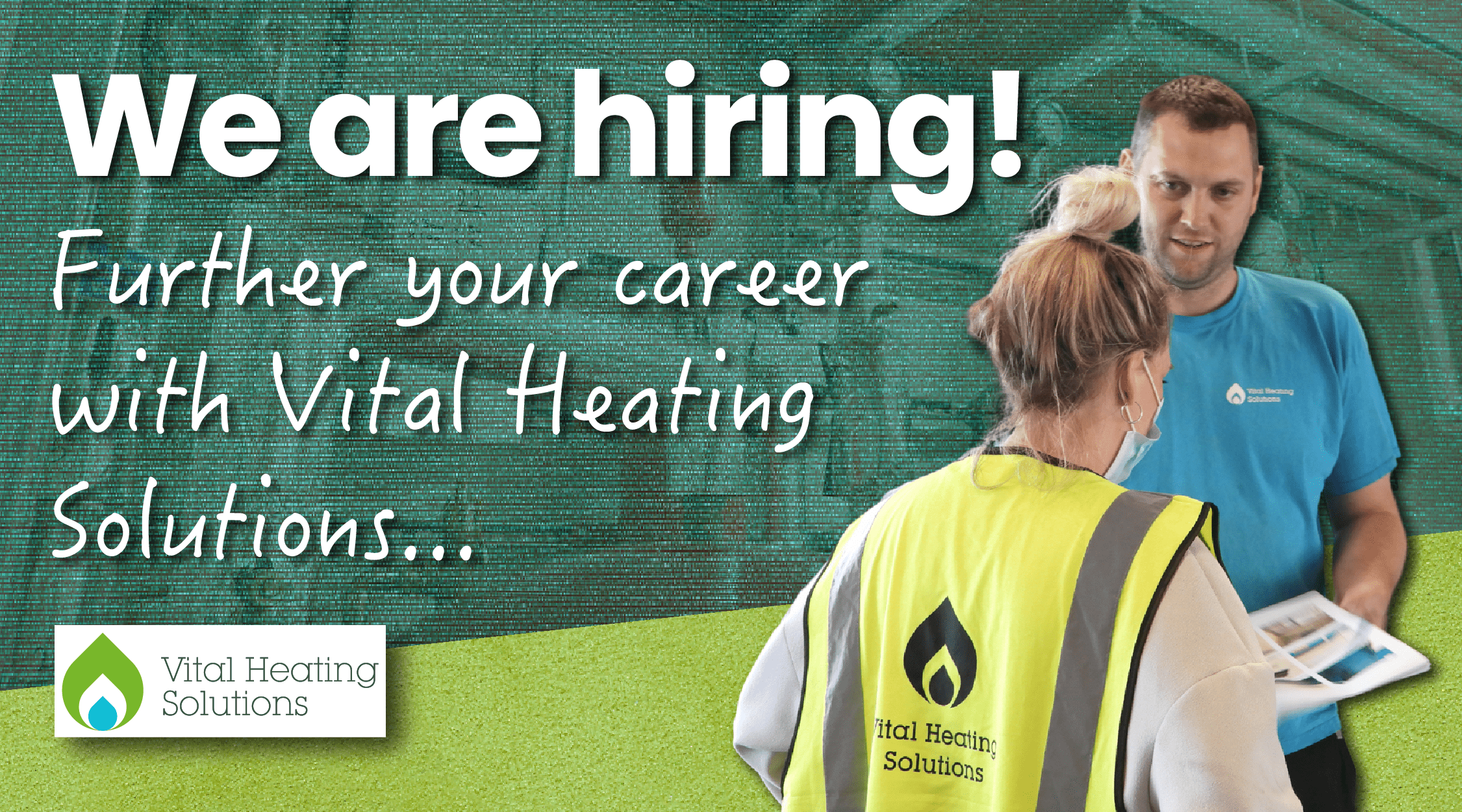 We're hiring Gas Engineers in Lancashire! Join the Vital Heating team!