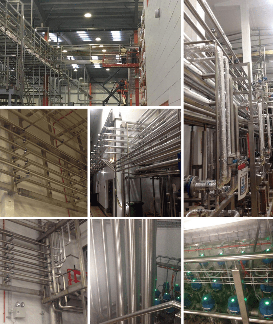 Pipe Welding Fabrication Solutions for the Industrial Commercial FMCG sectors covering all aspects of Process Hygienic & Energy pipework systems