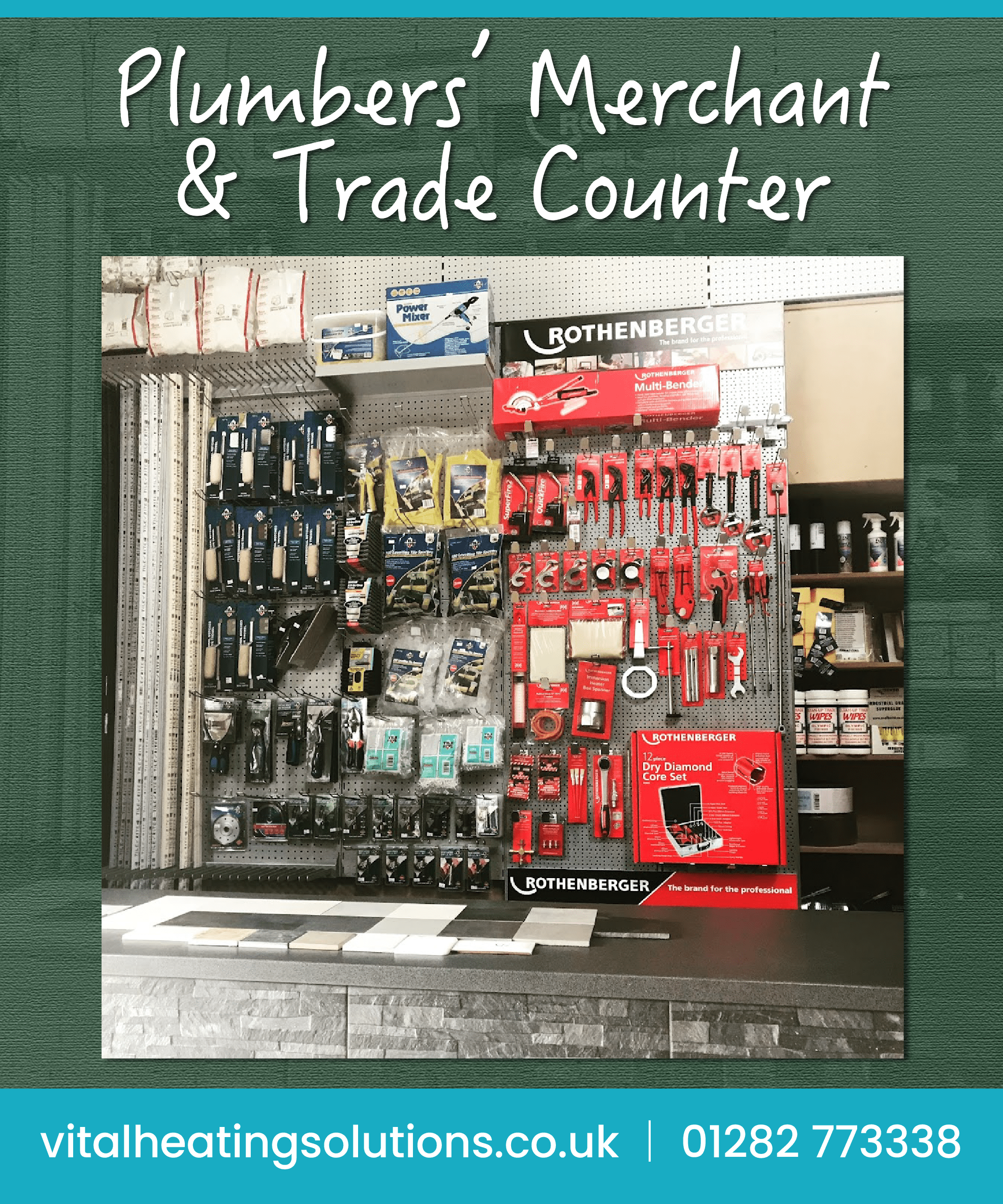 Plumbers Merchant Shop Lancashire Burnley Blackburn UK Trade Counter